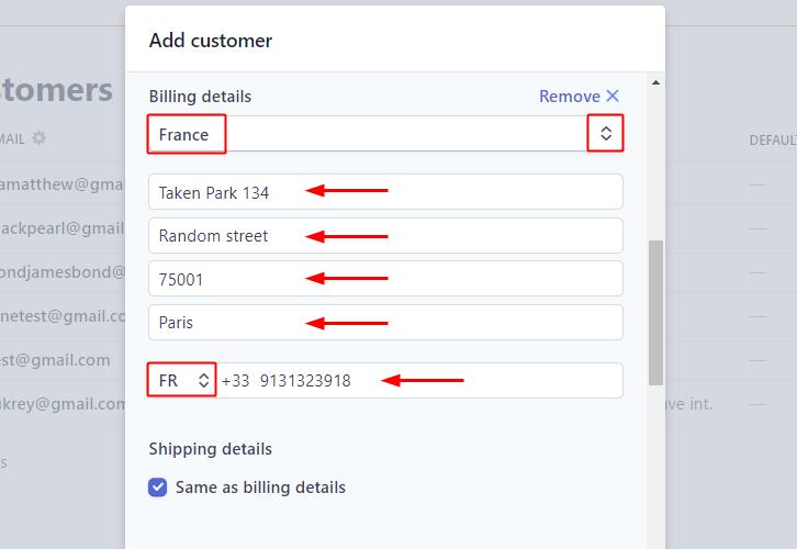 Add Billing Details for Stripe to Salesforce