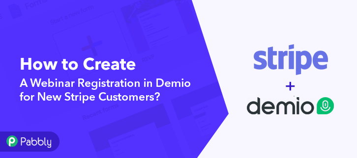 How to Create a Webinar Registration in Demio for New Stripe Customers