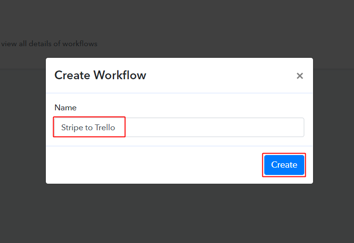 Stripe to Trello Workflow