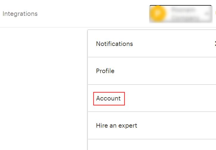 Account MailChimp