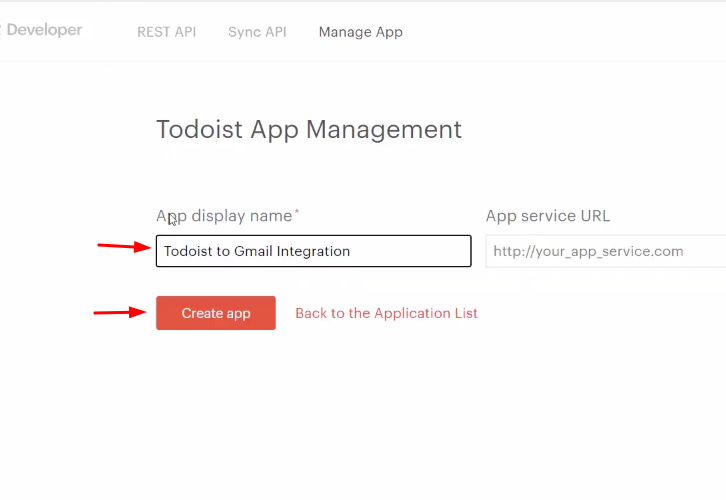 Name the App Todoist