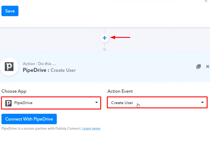 Select PipeDrive