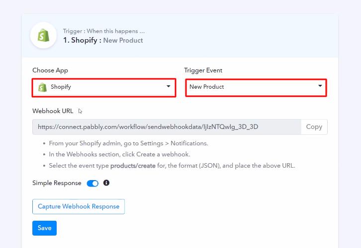 Select Shopify