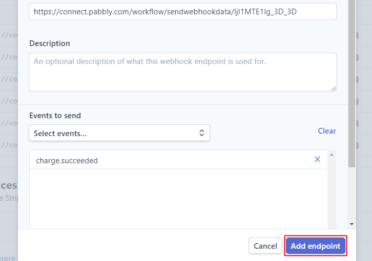 Add Endpoint for Stripe to ConvertKit