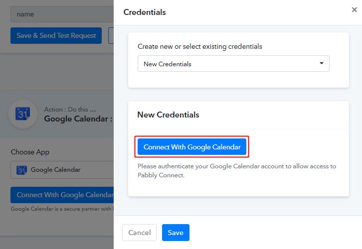 Authorize Google Account for Google Calendar to ClickUp Integration