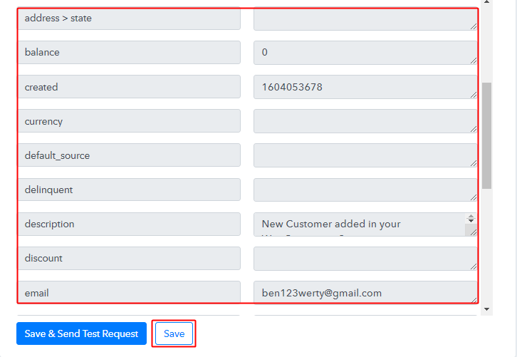 Check & Save Action Response for WooCommerce to Stripe