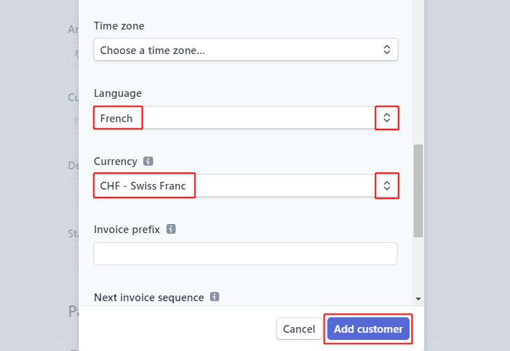 Click Add Customer for Stripe to ConverKit