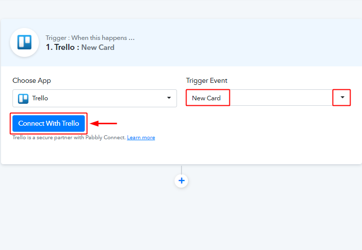 Select Method & Connect with Trello