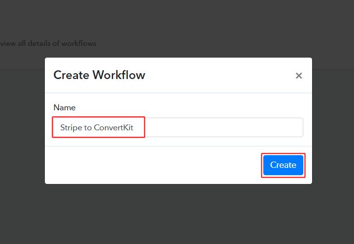 Stripe to ConvertKit Workflow