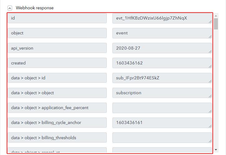 Trigger Response for Stripe to ConverKit