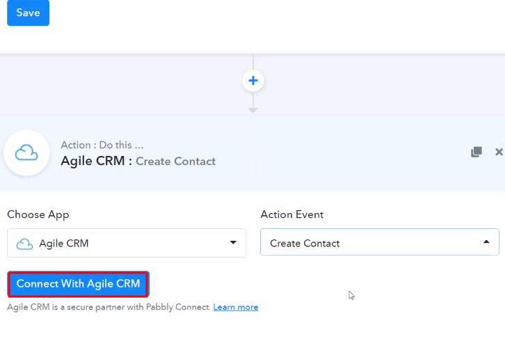 Connect with Agile CRM