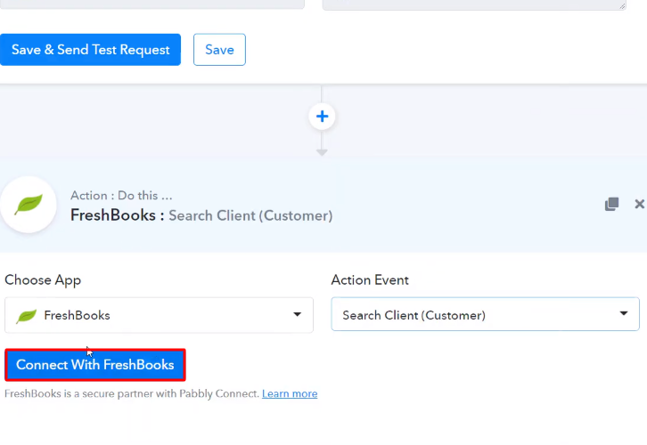 Connect with Freshbooks