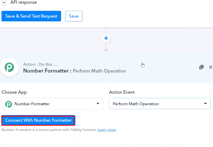 Connect with Number Formater