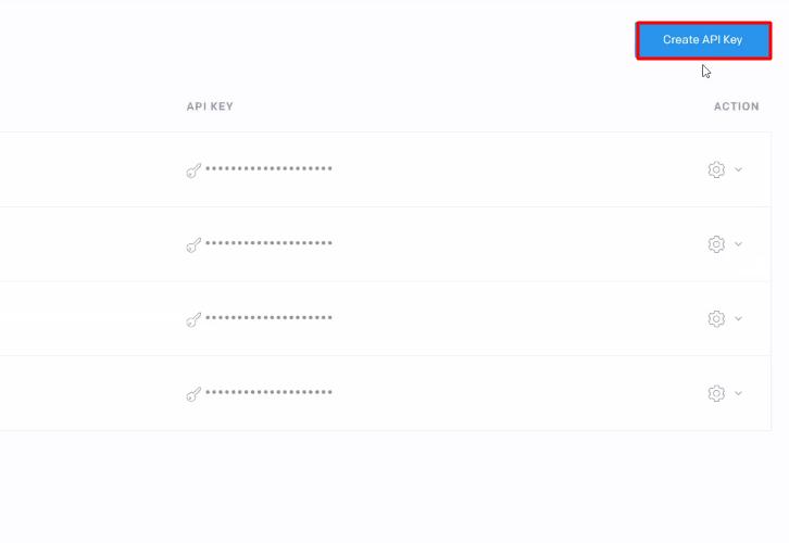 Create API Key SendGrid