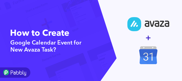 How to Create Google Calendar Event for New Avaza Task