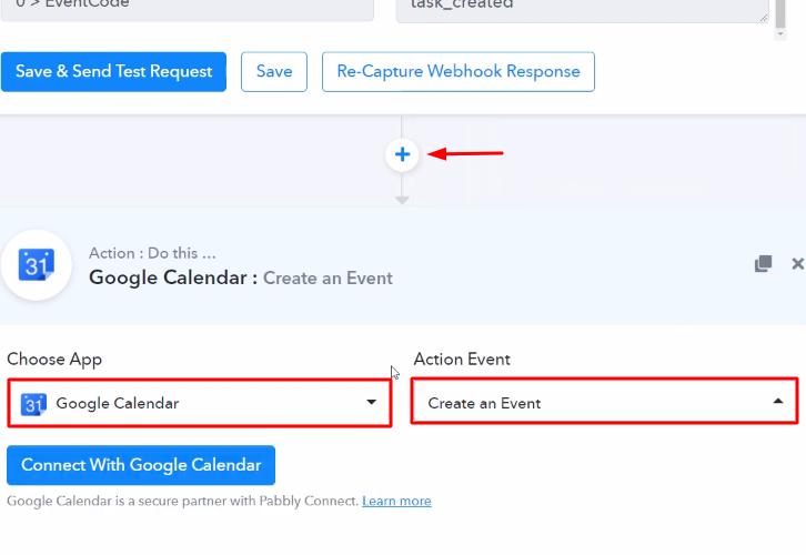 Select Google Calender
