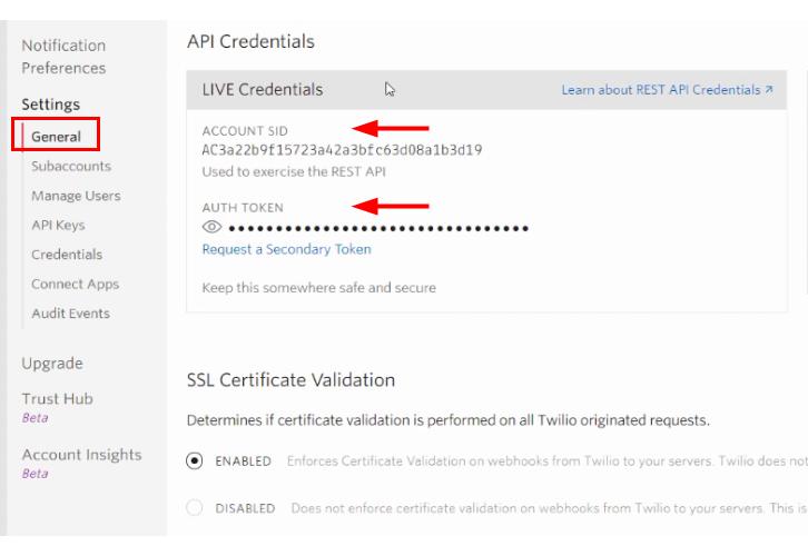 Copy Authorization Token