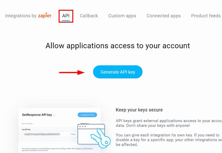 Generate New API