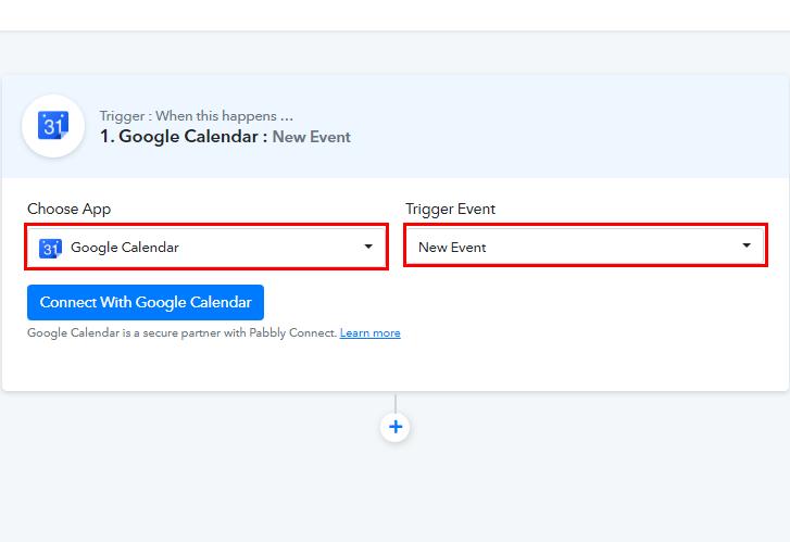 Select Google Calendar for Google Calendar to ClickUp Integration