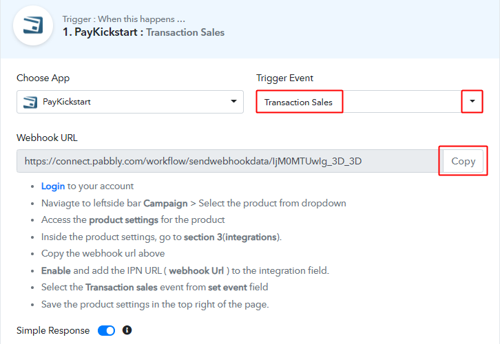 select_method_and_copy_webhook_url_for_paykickstart_to_freshdesk