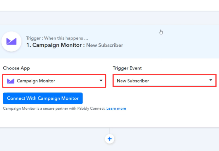 Select Application you Want to Integrate Campaign Monitor