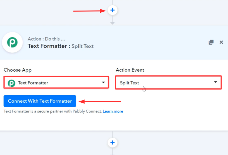 Select Application to Format Text