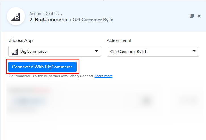 Connect with BigCommerce