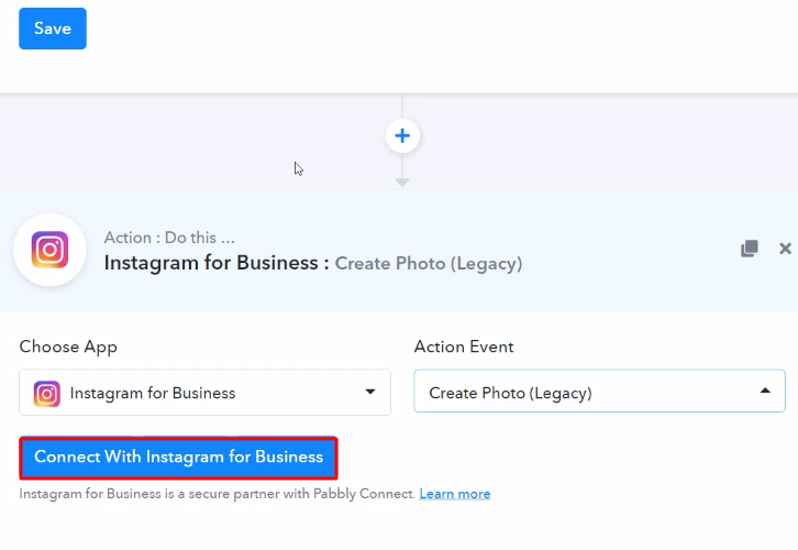 Connect with Instagram 1