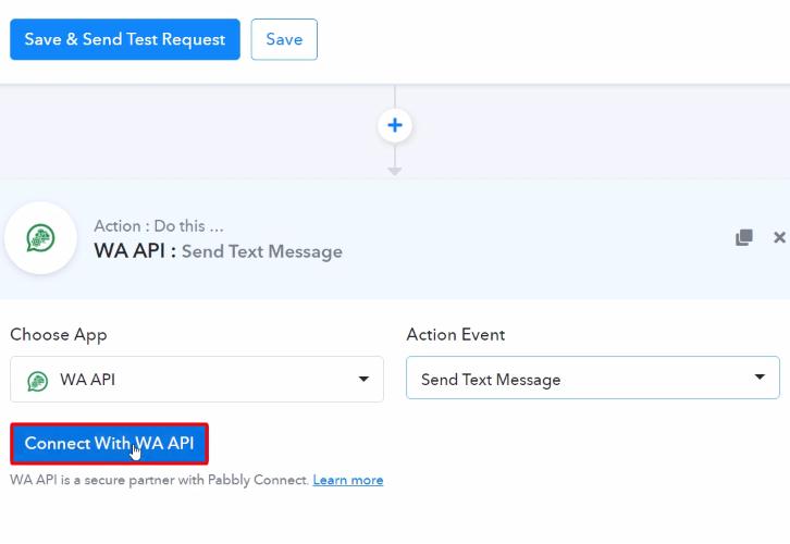 Connect with WA API