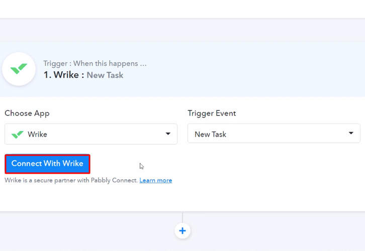 Connect with Wrike