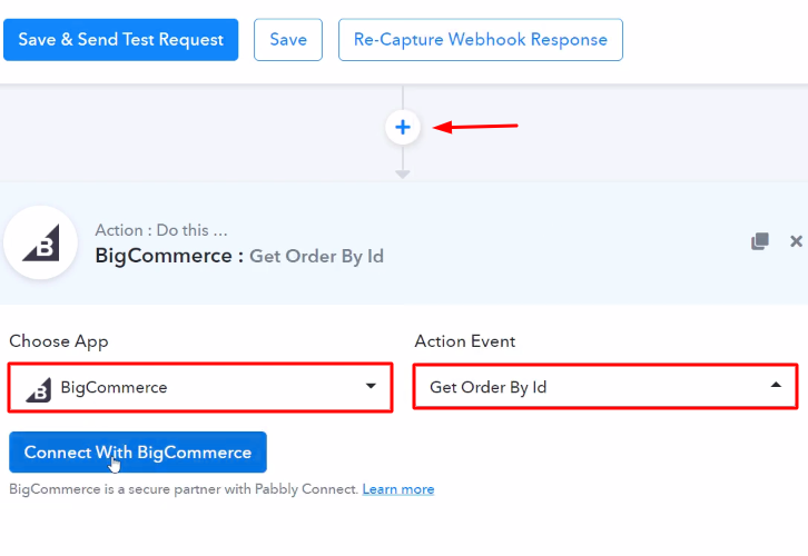Select BigCommerce Action