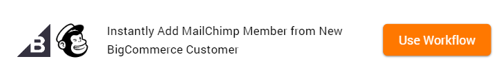 Clone Template - BigCommerce and MailChimp