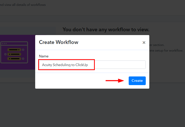 Acuity Scheduling to ClickUp Integration