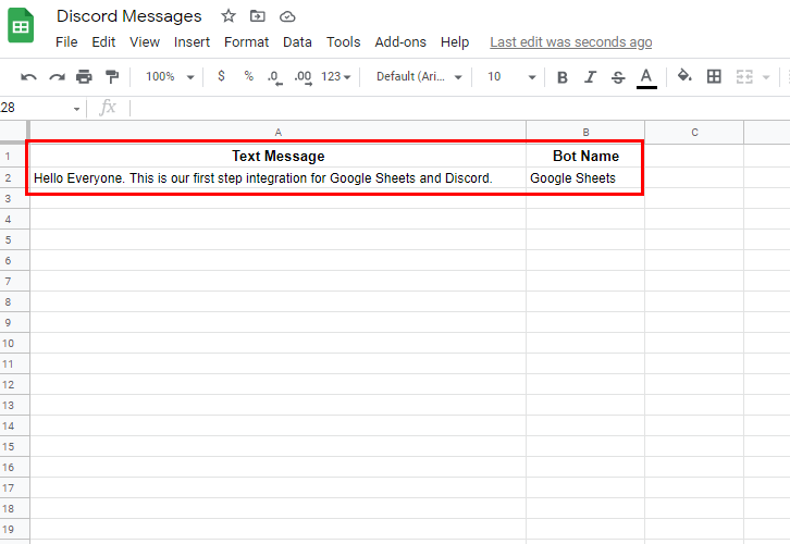 Add Data to Google Sheets
