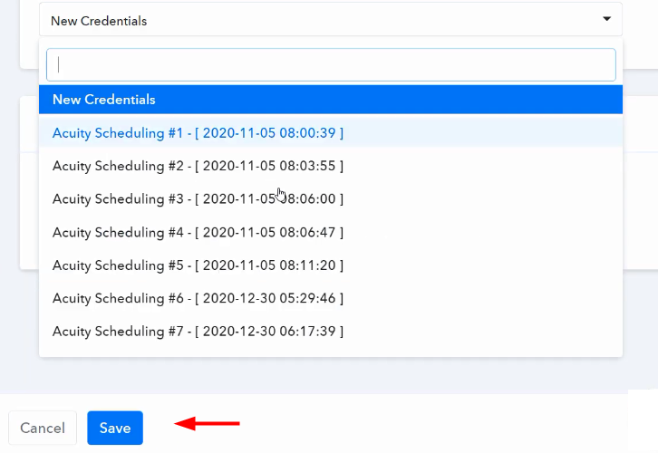 Authorize Acuity Scheduling for Acuity Scheduling to ClickUp Integration