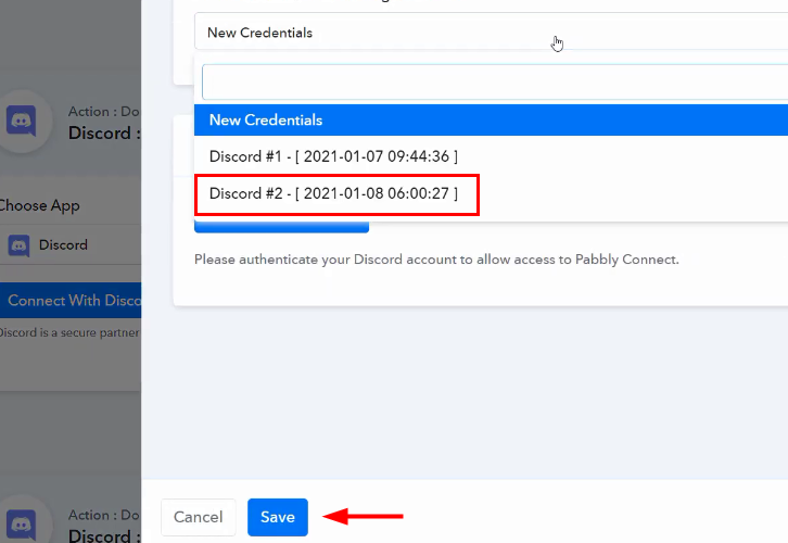 Authorize Discord for Google Sheets to Discord Integration