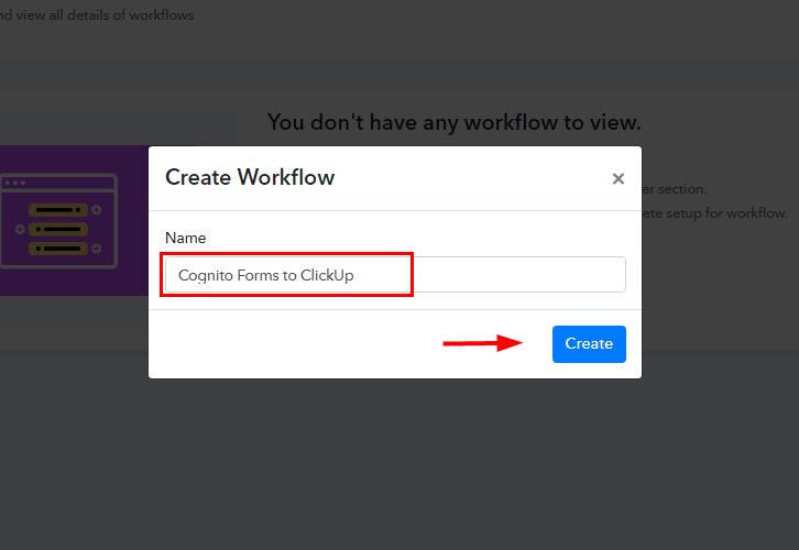 Cognito Forms to ClickUp