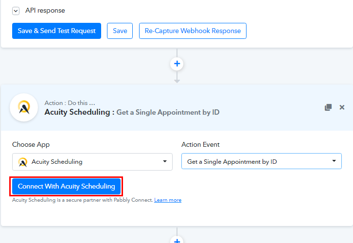 Connect with Acuity Scheduling