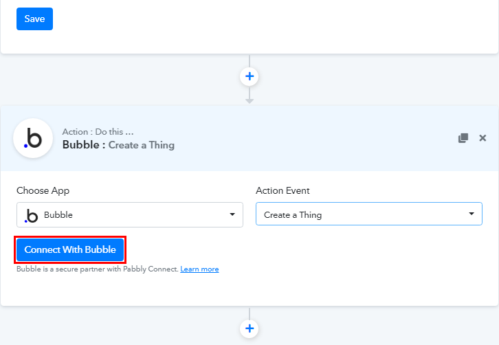 Connect with Bubble for Google Sheets to Bubble Integration