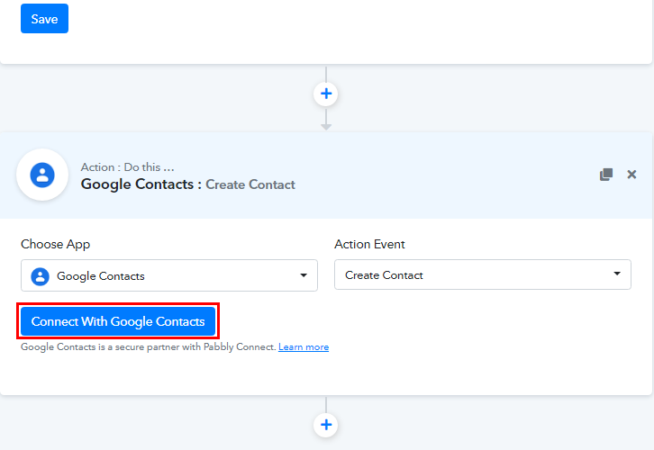 Connect with Google Contacts