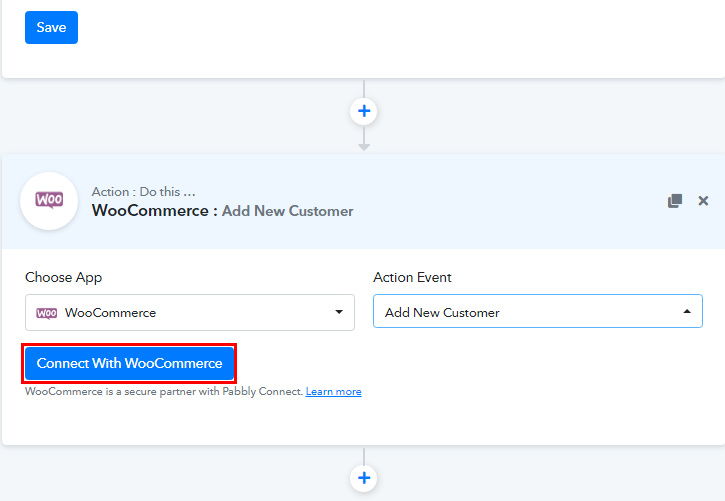 Connect with WooCommerce