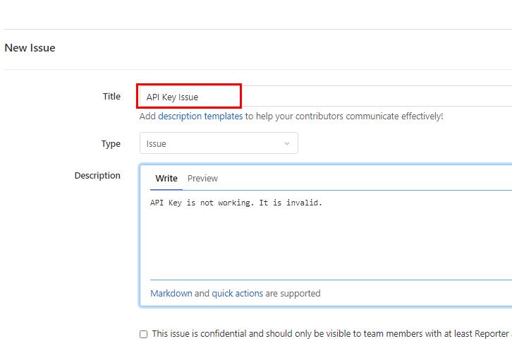Enter Issue Details for GitLab to ClickUp Integrations