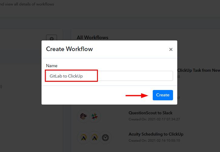 GitLab to ClickUp Integrations