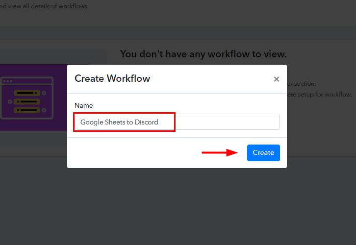 Google Sheets to Discord Integration