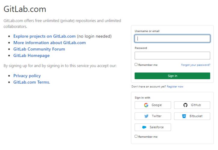 Login to GitLab for GitLab to ClickUp Integrations