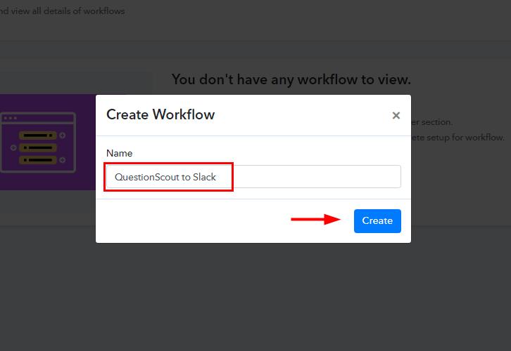 QuestionScout to Slack Integration