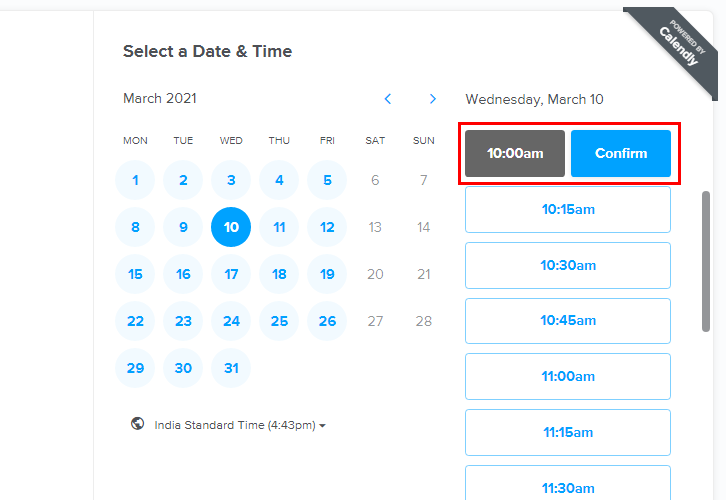 Schedule Meeting for Calendly to ClickUp Integration