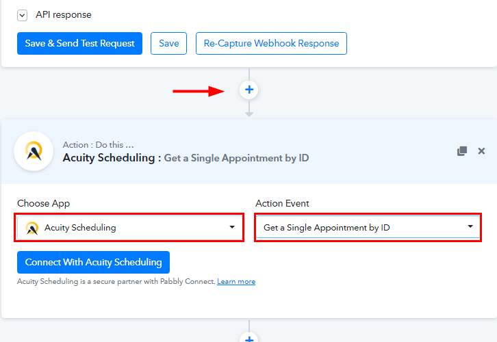 Select Acuity Scheduling for Acuity Scheduling to ClickUp Integration