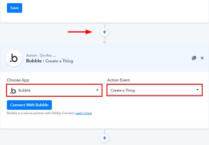Select Bubble for Google Sheets to Bubble Integration