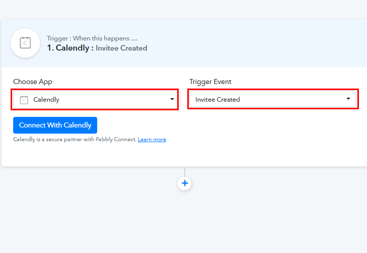 Select Calendly for Calendly to ClickUp Integration